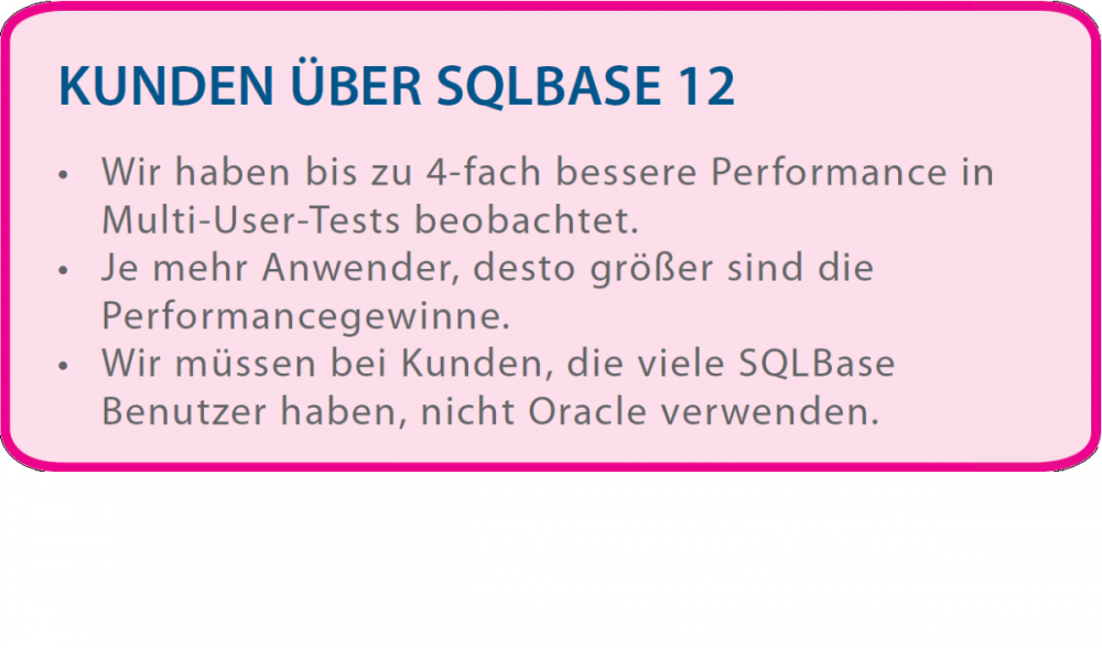 SQLBase-performance-benutzer-user-oracle-test-multi-customer