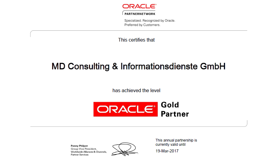 oracle-md-consulting-partner-network-gold-level-informationsdienste-gmbh-partnership-partnerschaft