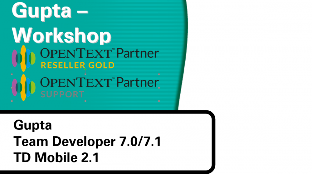 Gupta-Workshop-Opentext-Reseller-Team-Developer-td-mobile