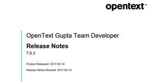 Gupta Team Developer 7 0 3 steht zur Verfügung | MD Consulting