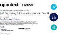 MD-Consulting-Gupta-OpenText-Gold-Partner-Partnerschaft-Certificate-Zertifikat-Support-Team-Developer-SQLBase-Report-Builder-TDMobile-Brava-Zusammenarbeit