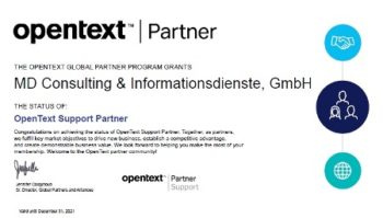 MD-Consulting-Gupta-OpenText-Gold-Partner-Partnerschaft-Certificate-Zertifikat-Support-Team-Developer-SQLBase-Report-Builder-TDMobile-Brava-Zusammenarbeit